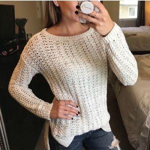 Ann Taylor LOFT Chunky Knit Sweater